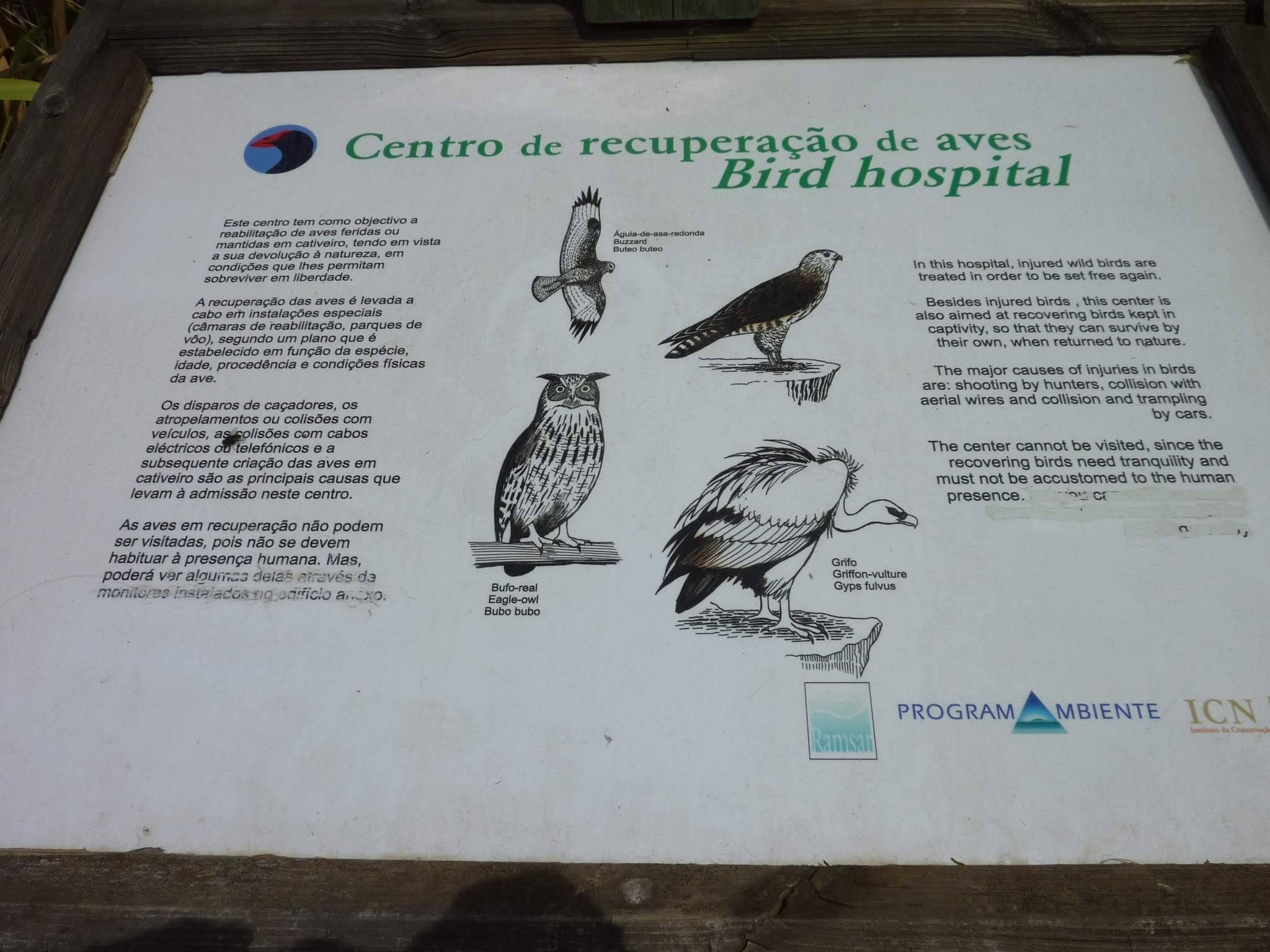 Information Board at RIAS