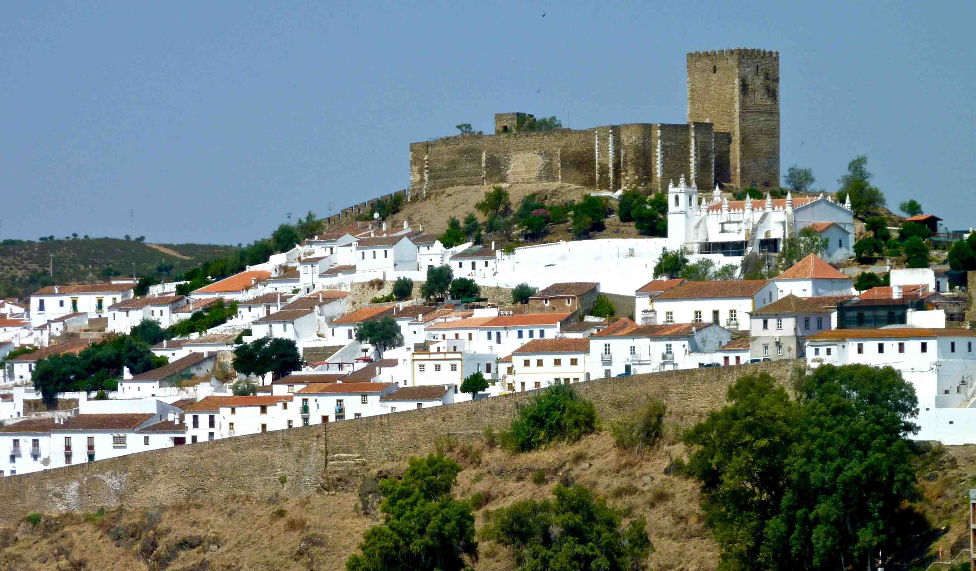 Castle at Mértola