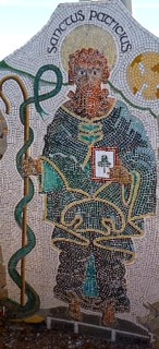 Cliff´s 3D Mosaic of St Patrick