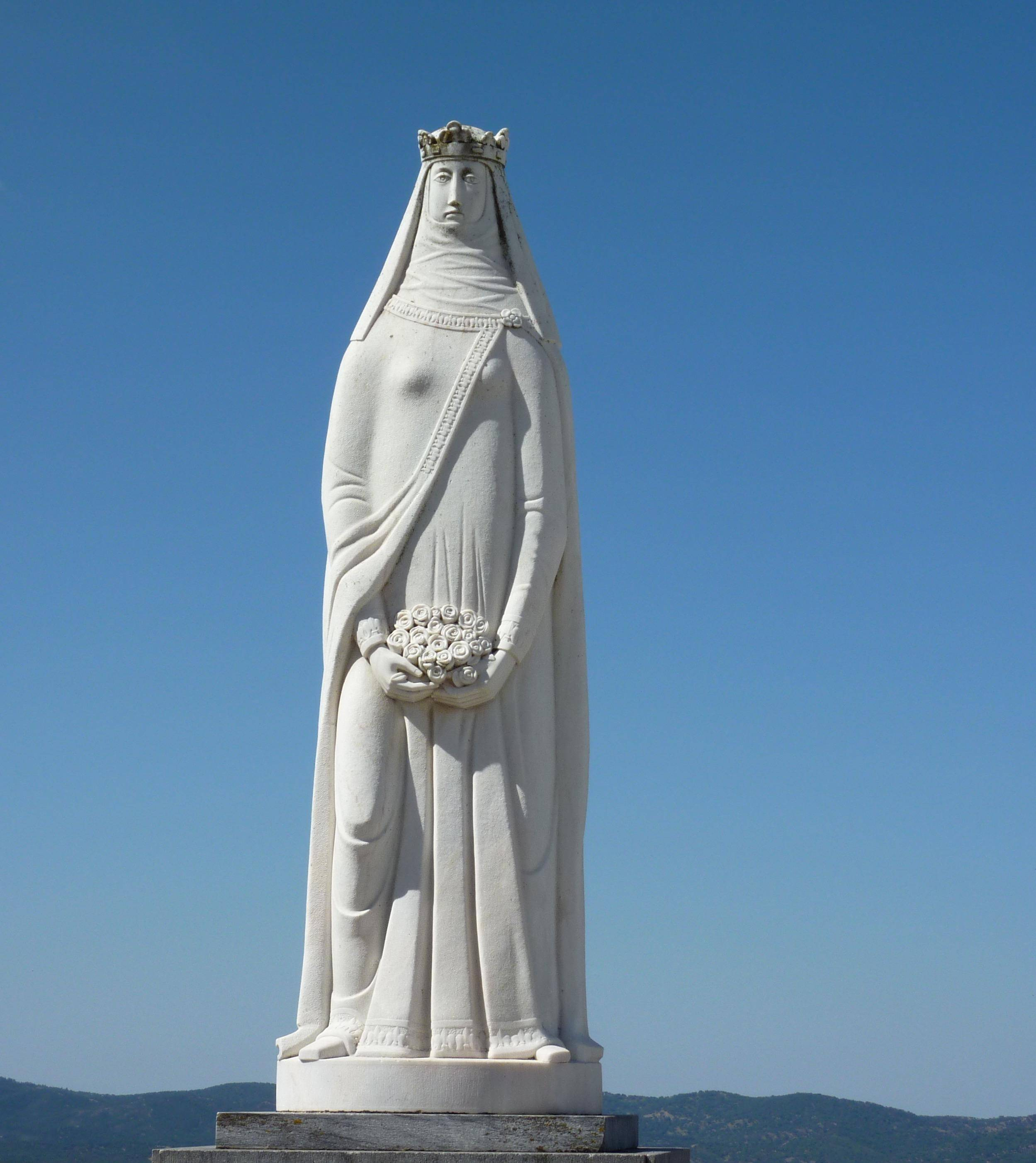 Statue of Santa Isabel